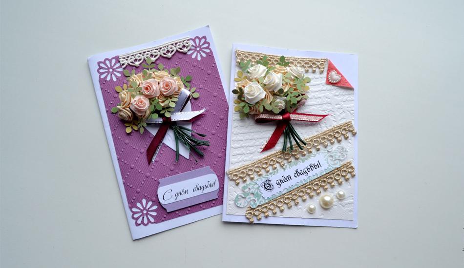 Праздничные открытки-квиллинг