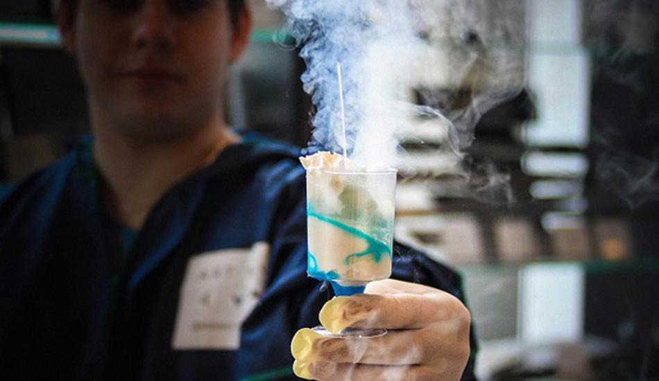 Мороженое из жидкого азота
