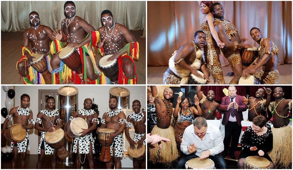 Афро-шоу на 8 Марта