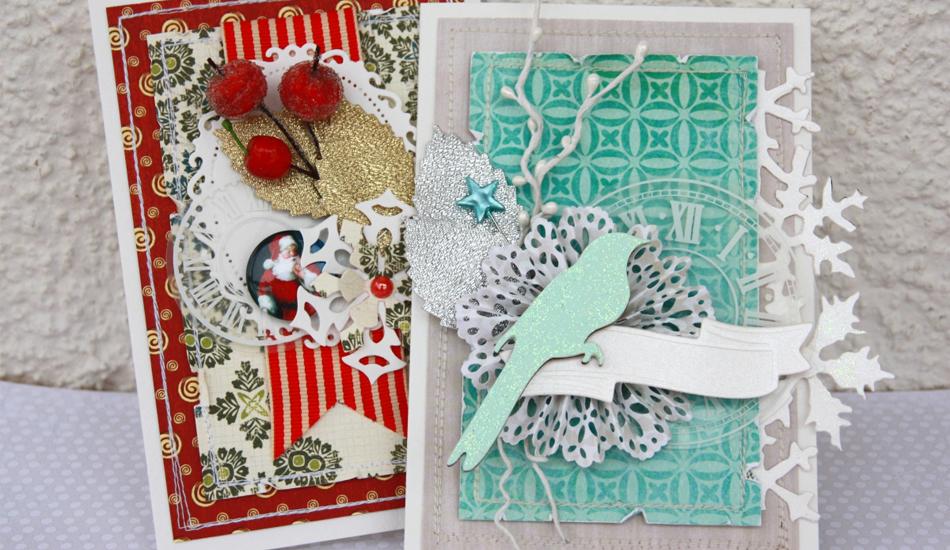 Праздничные открытки-скрапбукинг