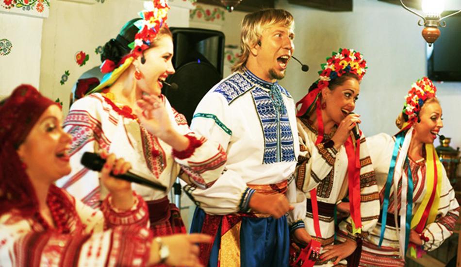 Выпускной вечер в украинском стиле