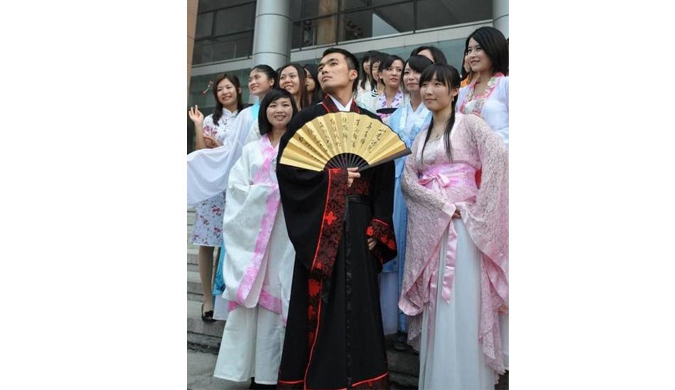 китайский выпускной
