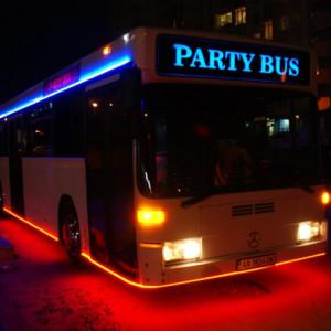 Дискотека на колесах в Киеве, party bus